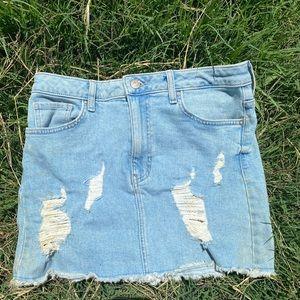 Size 27 Forever 21 Denim Skirt